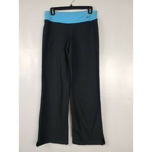 Nike Dry Fit Pants Flare Wide Leg Yoga Exercise M